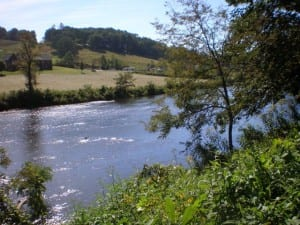 New River in Ashe County